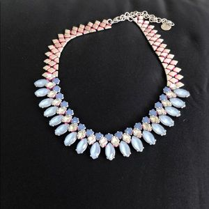 Blue, Pink, and Silver Stella & Dot Necklace